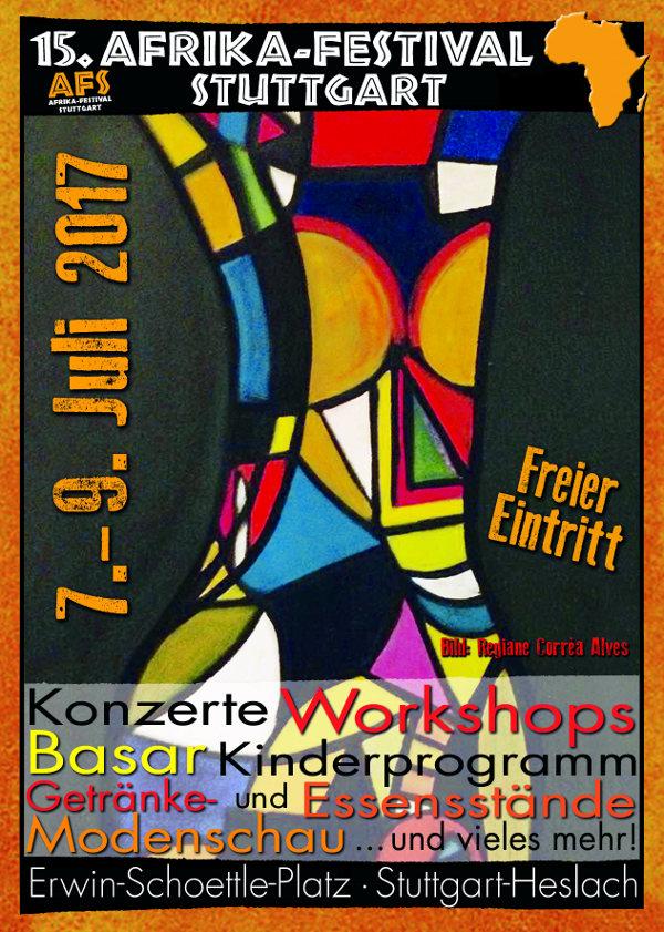 Veranstaltungstipp: 15. Afrika-Festival Stuttgart 7.-9. Juli 2017