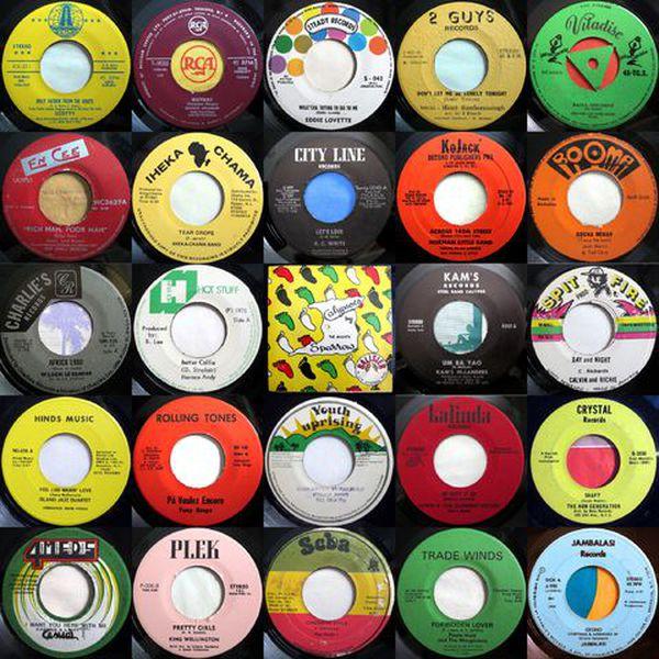 Dub, Ska, Reggae 45s Mixtape