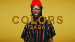 A COLORS SHOW: Saba - There You Go (Video)