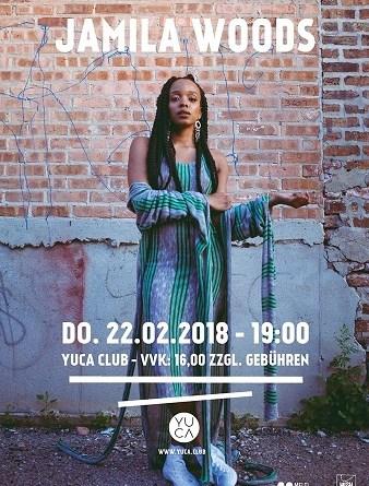 Veranstaltungstipp: Jamila Woods • Köln • Yuca