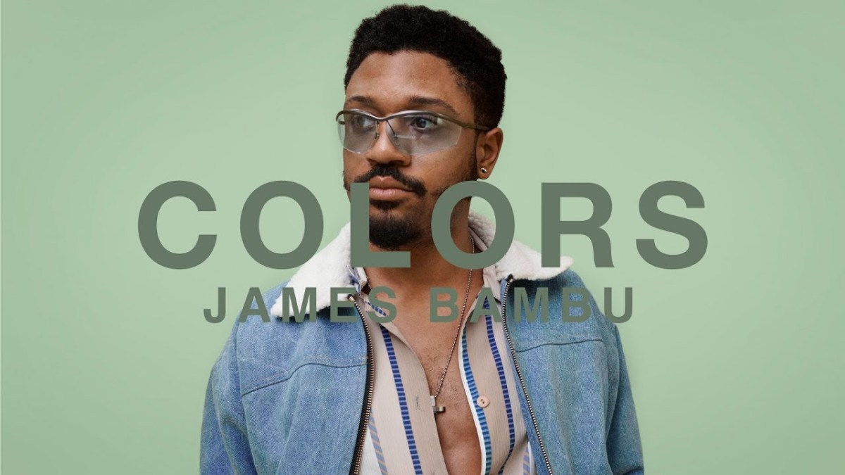 A COLORS SHOW: James Bambu - Succulent (Video)