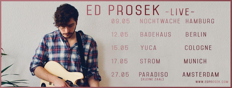 Videotipp: Ed Prosek - Say Goodbye // + Tourdaten