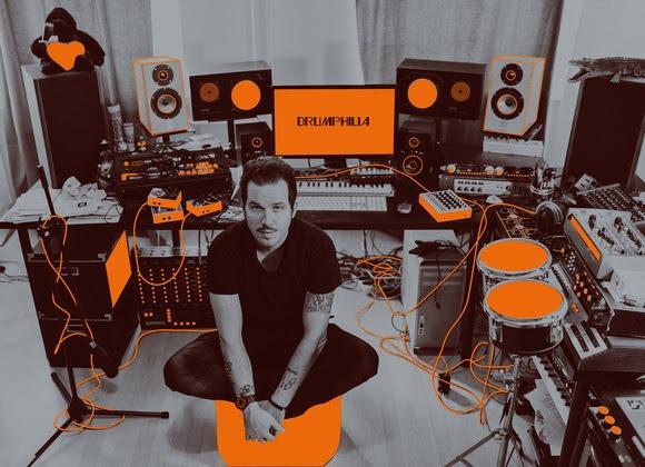Happy Releaseday: Andrea Benini - Drumphilia Vol. 1 // full album stream