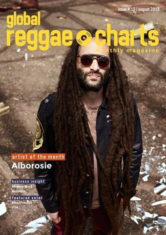 #GRC - Global Reggae Charts – Issue #15 / August 2018 - jetzt mit kostenlosem Mixtape!