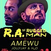 Veranstaltungstipp: DLTLLY präsentiert R.A. the Rugged Man & Amewu @ Backstage München (15.09.18)