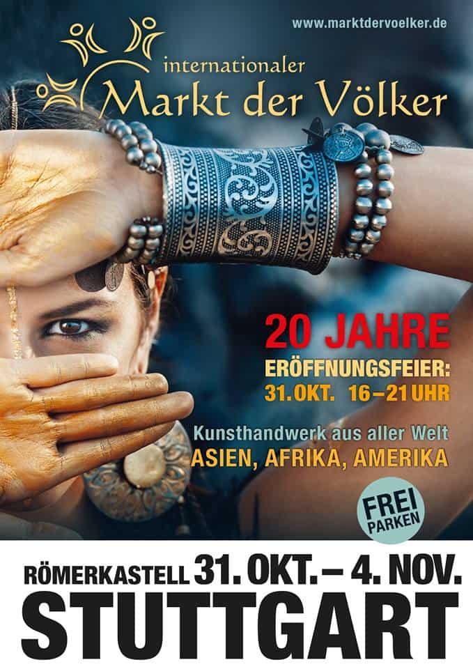 Veranstaltungstipp: Markt der Völker Stuttgart 2018