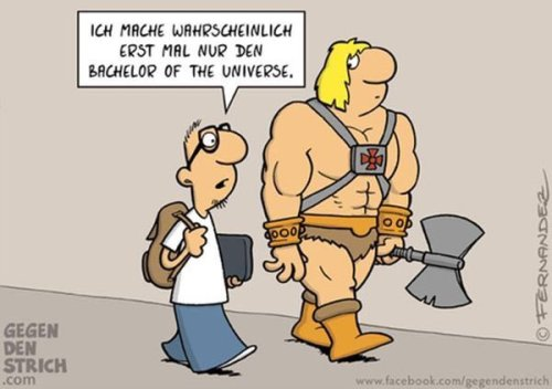 Bachelor of the Universe :)