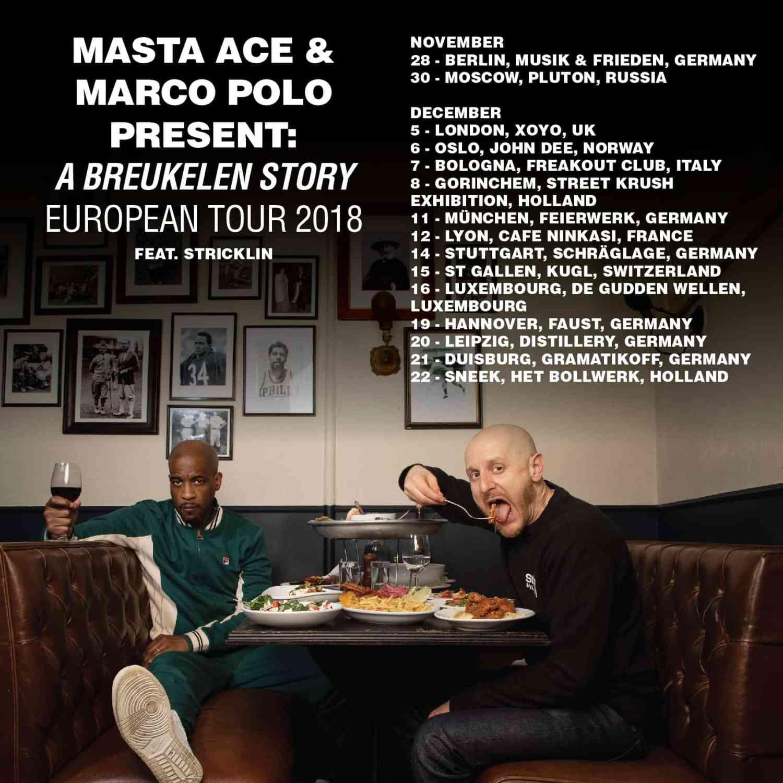 "Masta Ace & Marco Polo - Kings (official Video) + full album stream ""A Breukelen Story"" + Tourdaten"