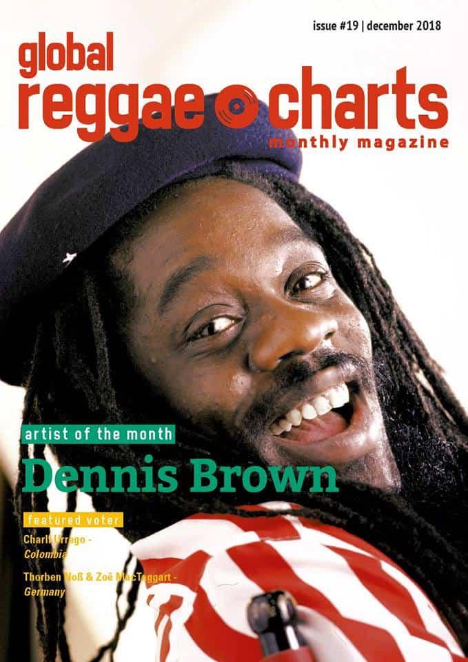Global Reggae Charts – Issue #19 - Dezember 2018 - jetzt mit kostenlosem Mixtape!