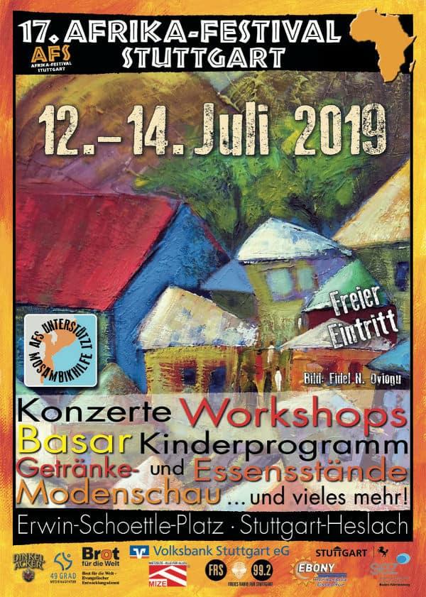 Veranstaltungstipp: Afrika-Festival Stuttgart 2019 vom 12. - 14. Juli