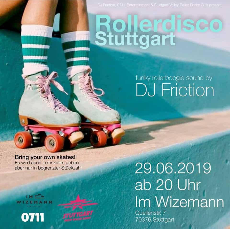 Verantstaltungstipp: Rollerdisco Stuttgart