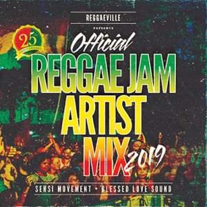 Reggae Jam festival 2019 artist mix by Blessed Love Sound & Sensi Movement