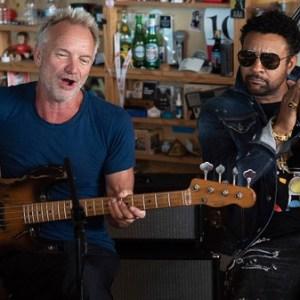 Sting and Shaggy: Tiny Desk Concert (Video) #npr #tinydesk