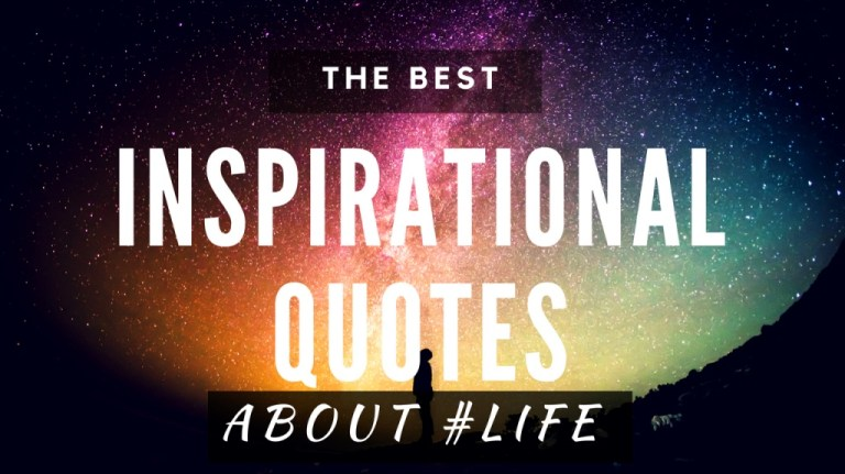Inspirational & Motivational Quotes About Life [Video]