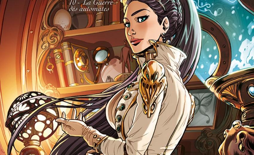 Princesse Sara – Tome 10, La guerre des automates