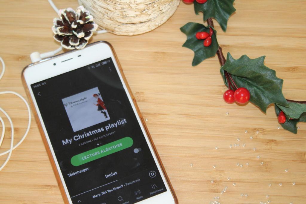 Ma playlist de Noël_souliervertblog