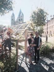 Soulier vert à Metz