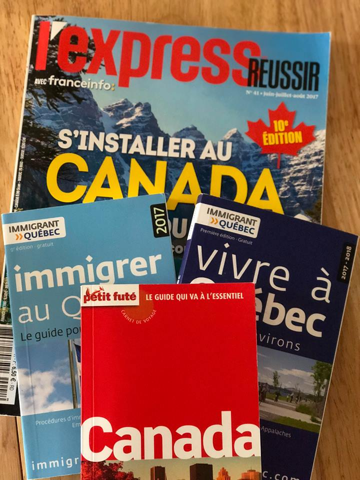 Livres Immigrer au Canada