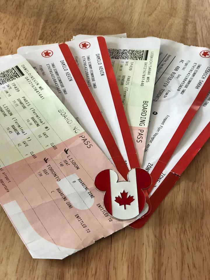 Billets avion Canada