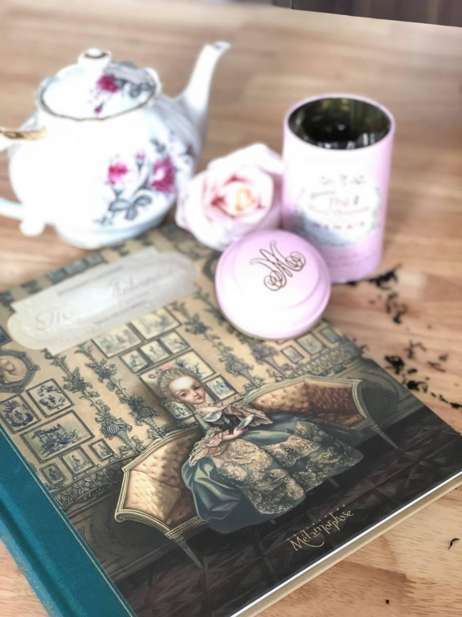 Benjamin Lacombe & Marie-Antoinette. Dans l'intimité d'une reine…