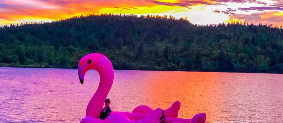 Mon premier party au bord du lac