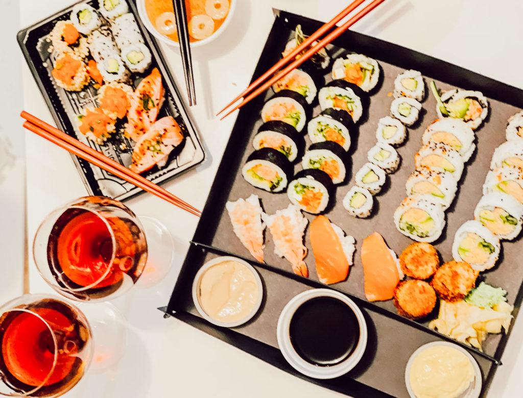 Manger des sushis Thetford