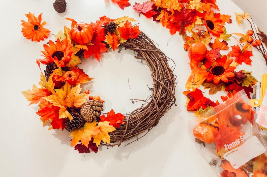 Ma couronne d'automne