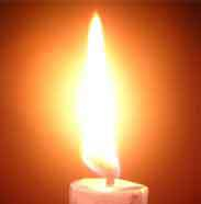 Our hearts' flame