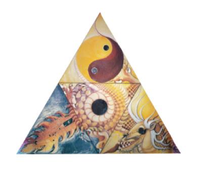 #Bego #Dragon #Energizer #water #earth #fire #triangel
