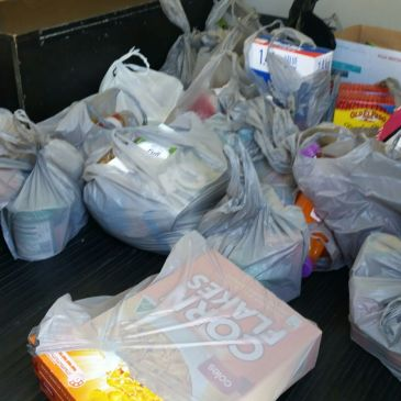 Much Needed Food Donation
