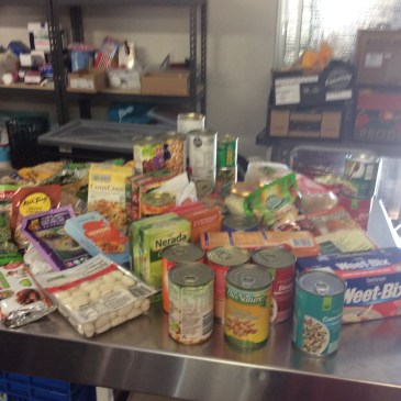 Endeavour Primary School Food Drive