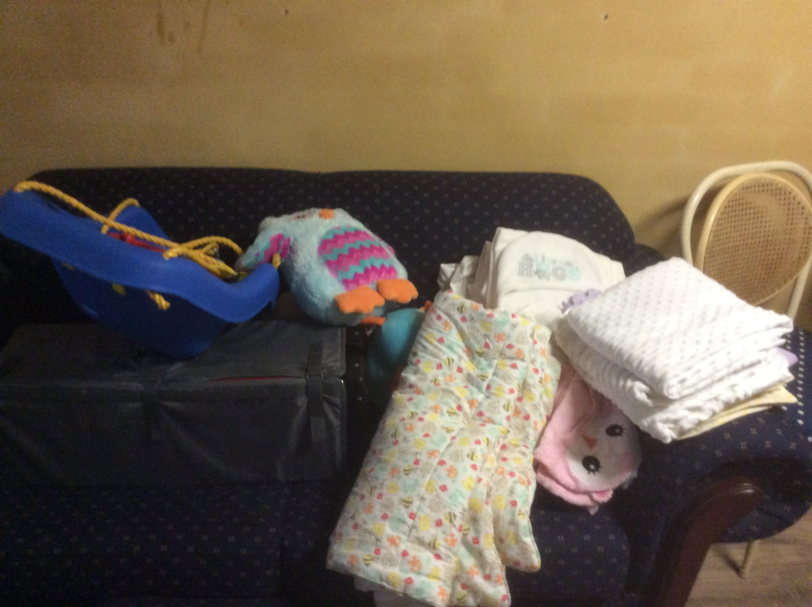 Baby Items Donated