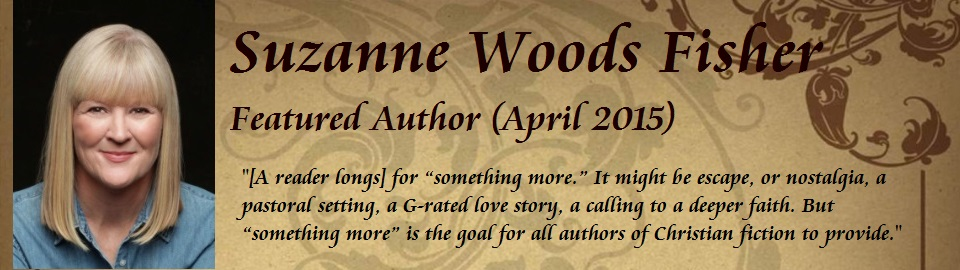 Featured Author: Suzanne Woods Fisher