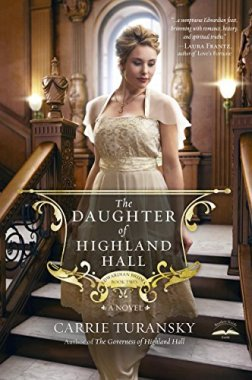 Book Cover: The Daughter of Highland Hall