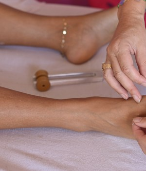 Acupuncture and Tuning Fork Therapy