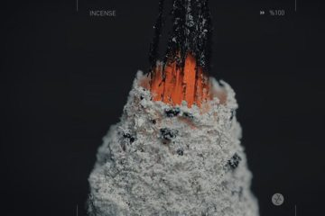 Incenso queimando