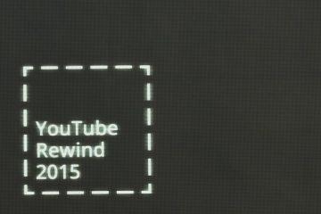 Confira o Rewind 2015 Youtube