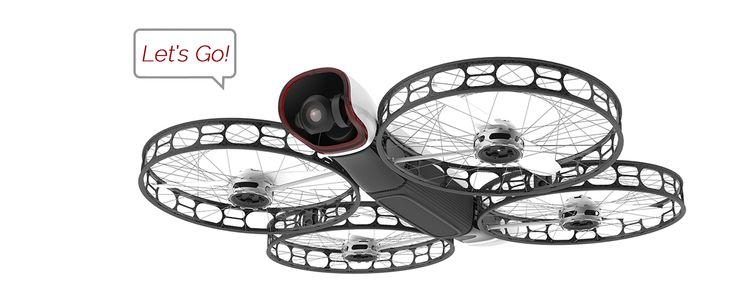 Snap, drone seguro e prático