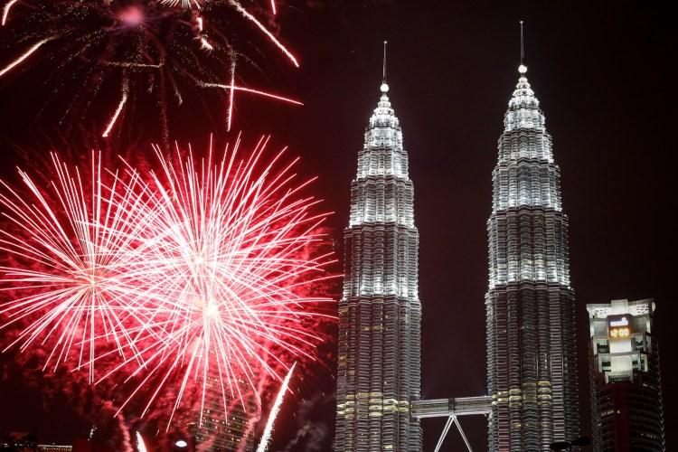 Ano novo Malásia