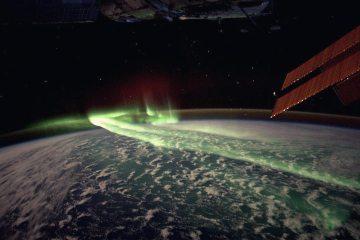 Fotos sob ponto de vista do espaço