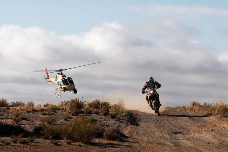 Antoine Meo da França, em Villazon, Bolívia . (Photo by Dean Mouhtaropoulos/Getty Images)