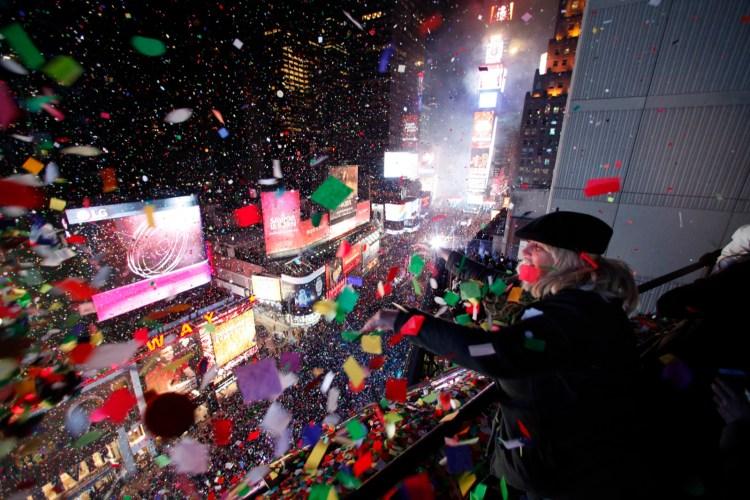 Ano novo EUA