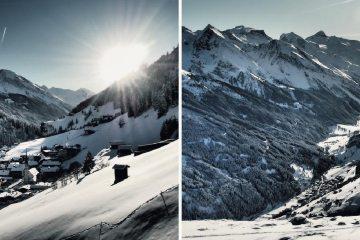Séries fotográficas nos Alpes