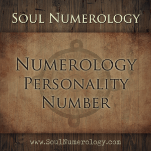 personality number numerology