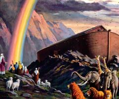 Noah In The 21st Century: The Animals are Marching in Two by Two