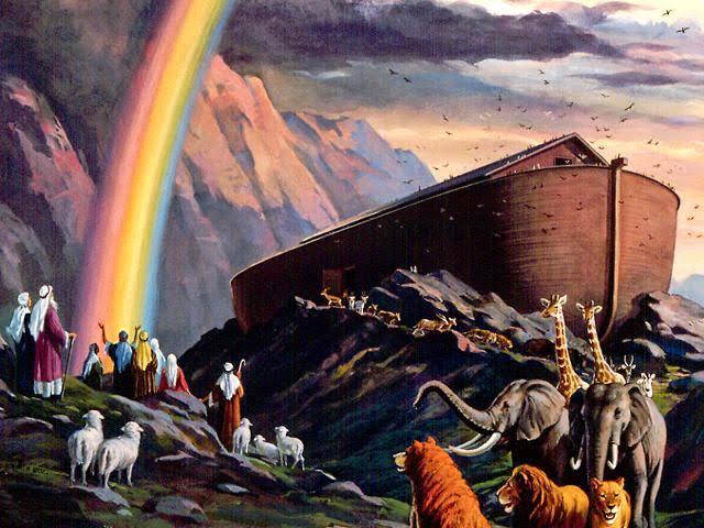Noah's Ark Children Illustration