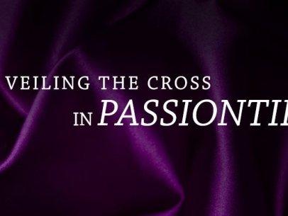 Crucifix Veiled in Purple