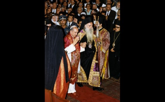 Pope Paul VI and Eastern Patriarch