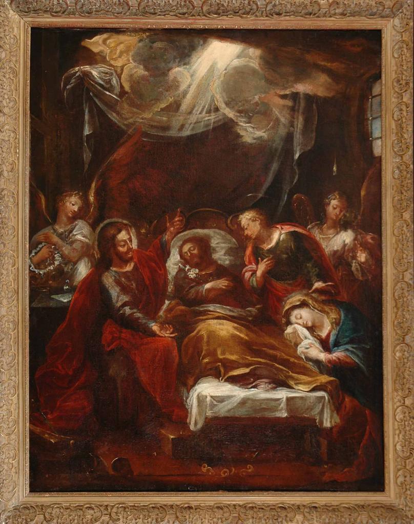 Death of Saint Joseph - Giovanni Battista Pittoni