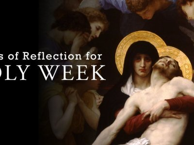 Contemporary Songs of Reflection for Holy Week